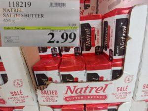 natrel salted butter