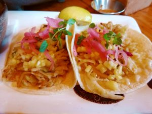 El Catrin Veggie tacos