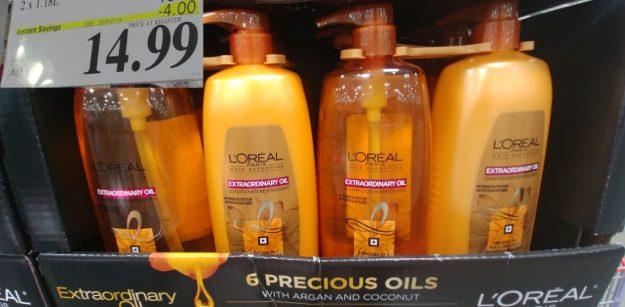 L'Oreal Extraordinary Oils shampoo & conditioner