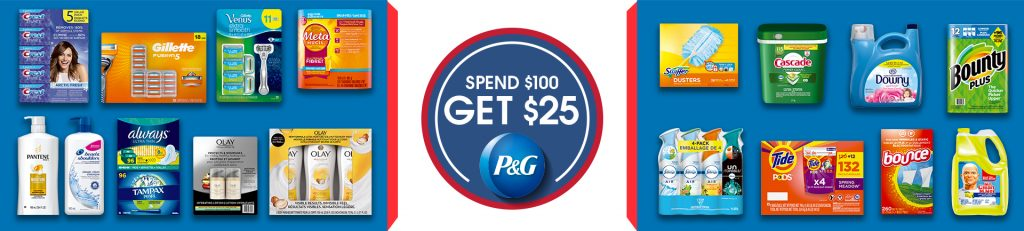 P&G spend and get offer