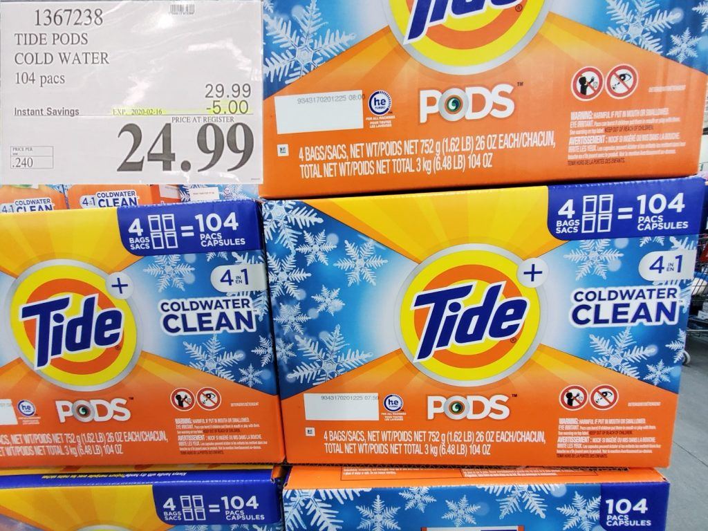 tide laundry pods