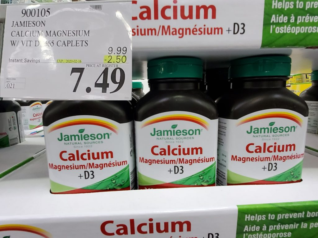 jamieson calcium