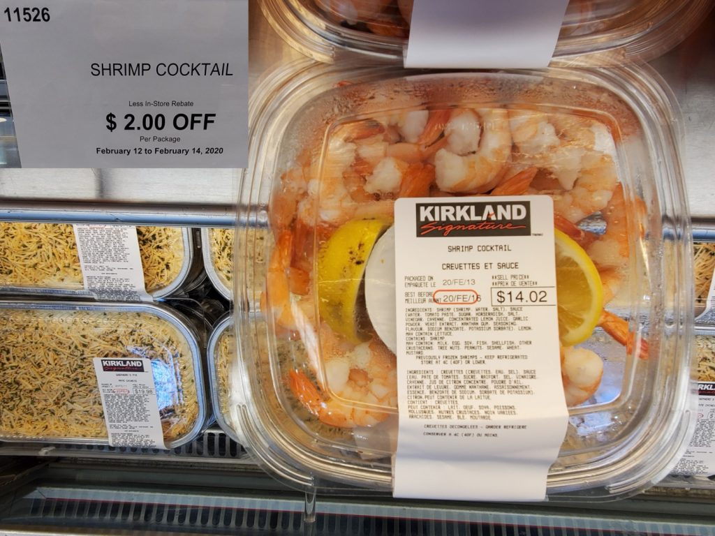 Costco seafood