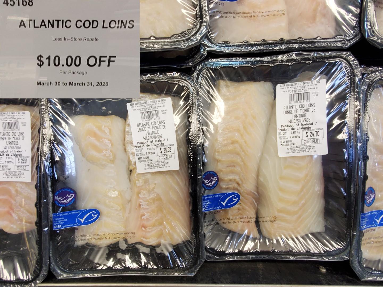 atlantic cod loin