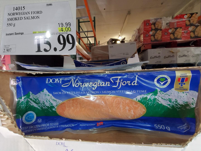 norwegian fjord smoked salmon