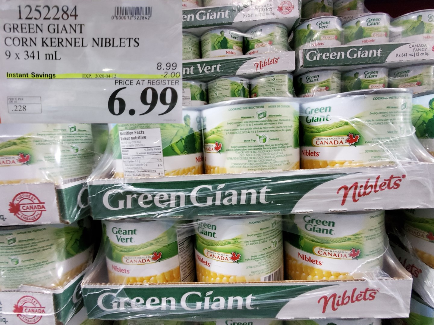 green giant nibblets