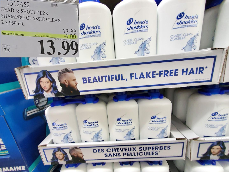 head & shoulders shampoo/conditioner