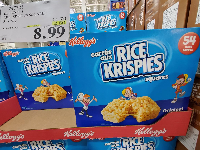 kellogg's rice crispy squares