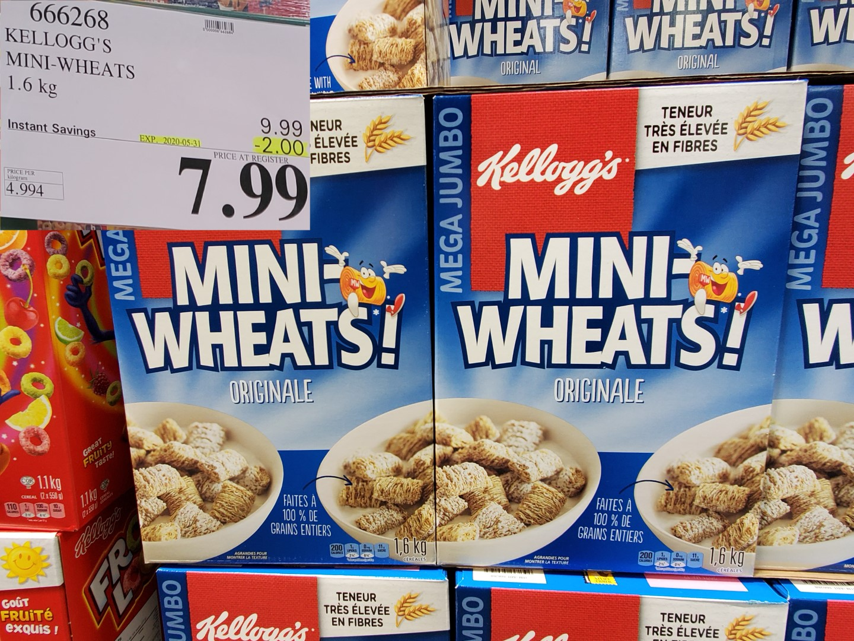 kellogg's mini wheats