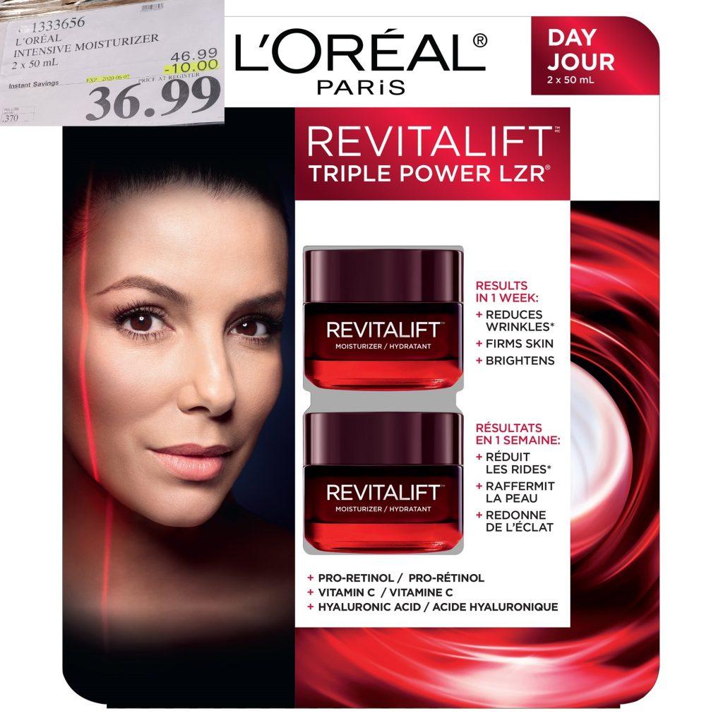 L'Oreal revitalift triple power LZR moisturizer
