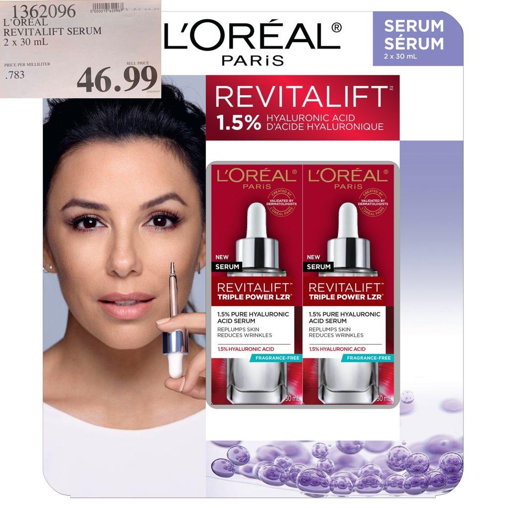L'Oreal revitalift LZR 1.5% H.A. serum