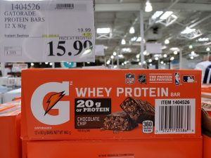 gatorade whey protein bar
