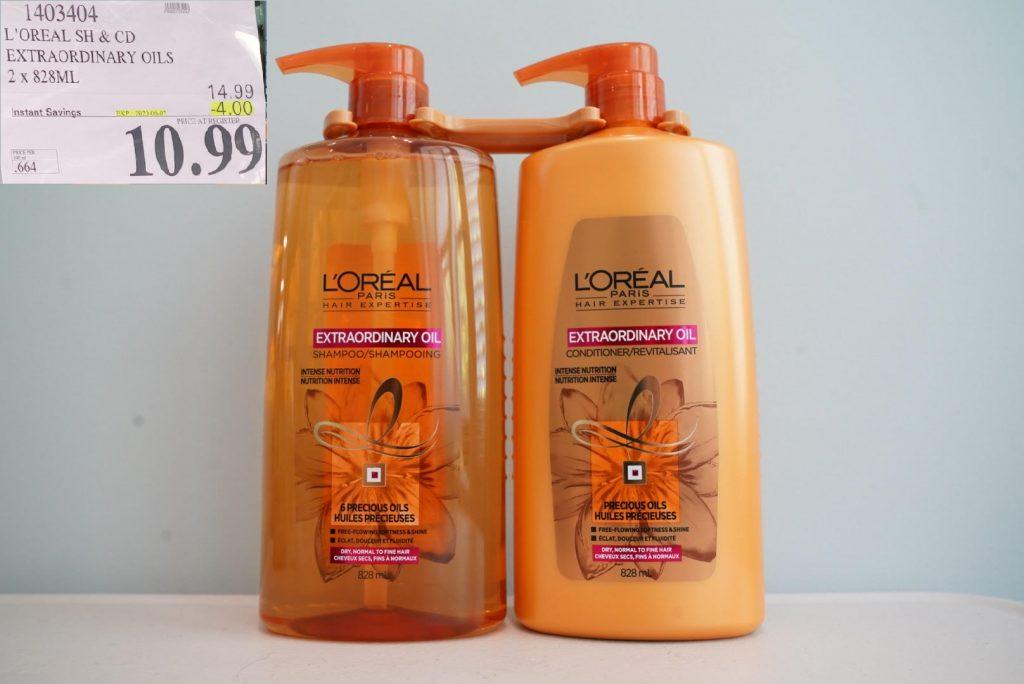 L'oreal extraordinary oils shampoo and conditioner