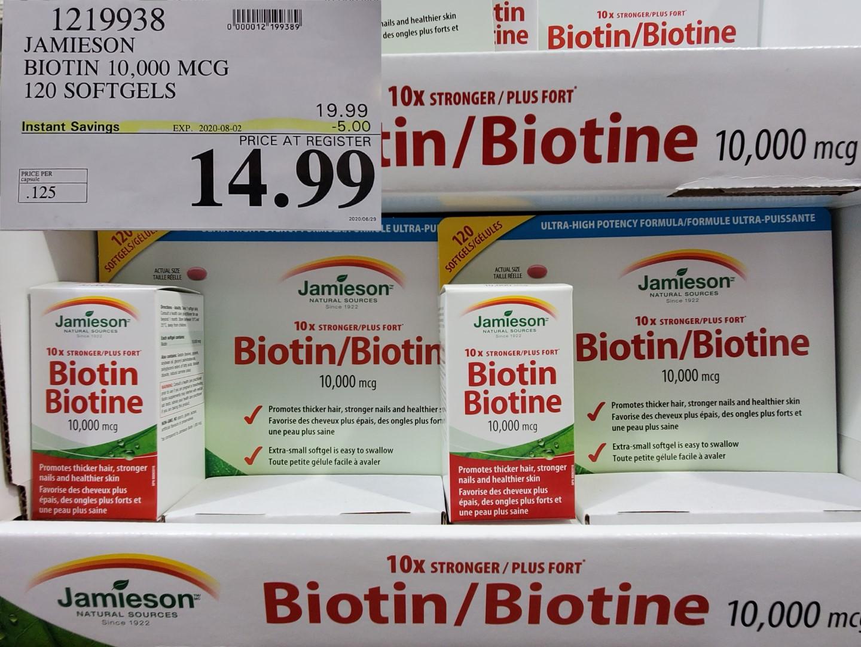 jamieson biotin