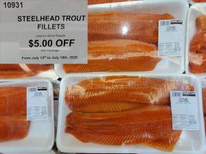 steelhead trout fillets