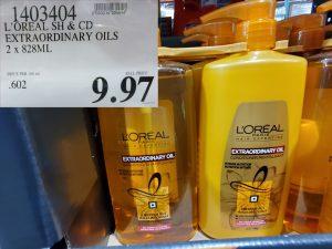 loreal extraordinary oils shampoo