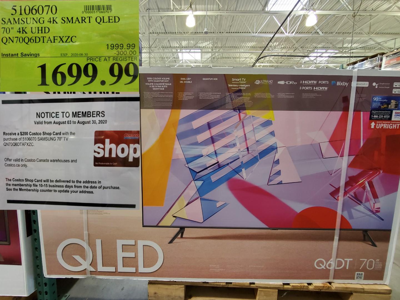 Samsung smart 4k QLED