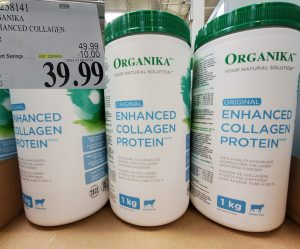 organika enhanced collagen protein shake