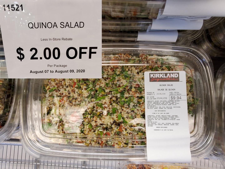 costco quinoa salad