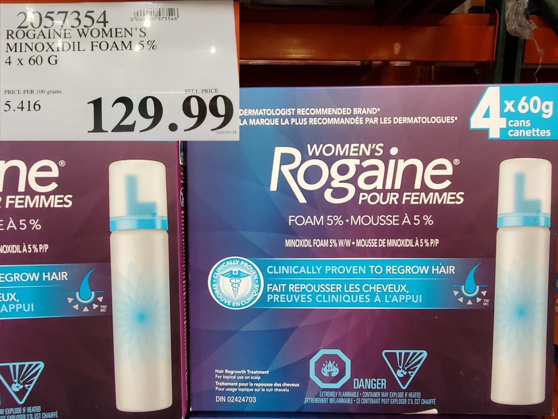womans rogaine