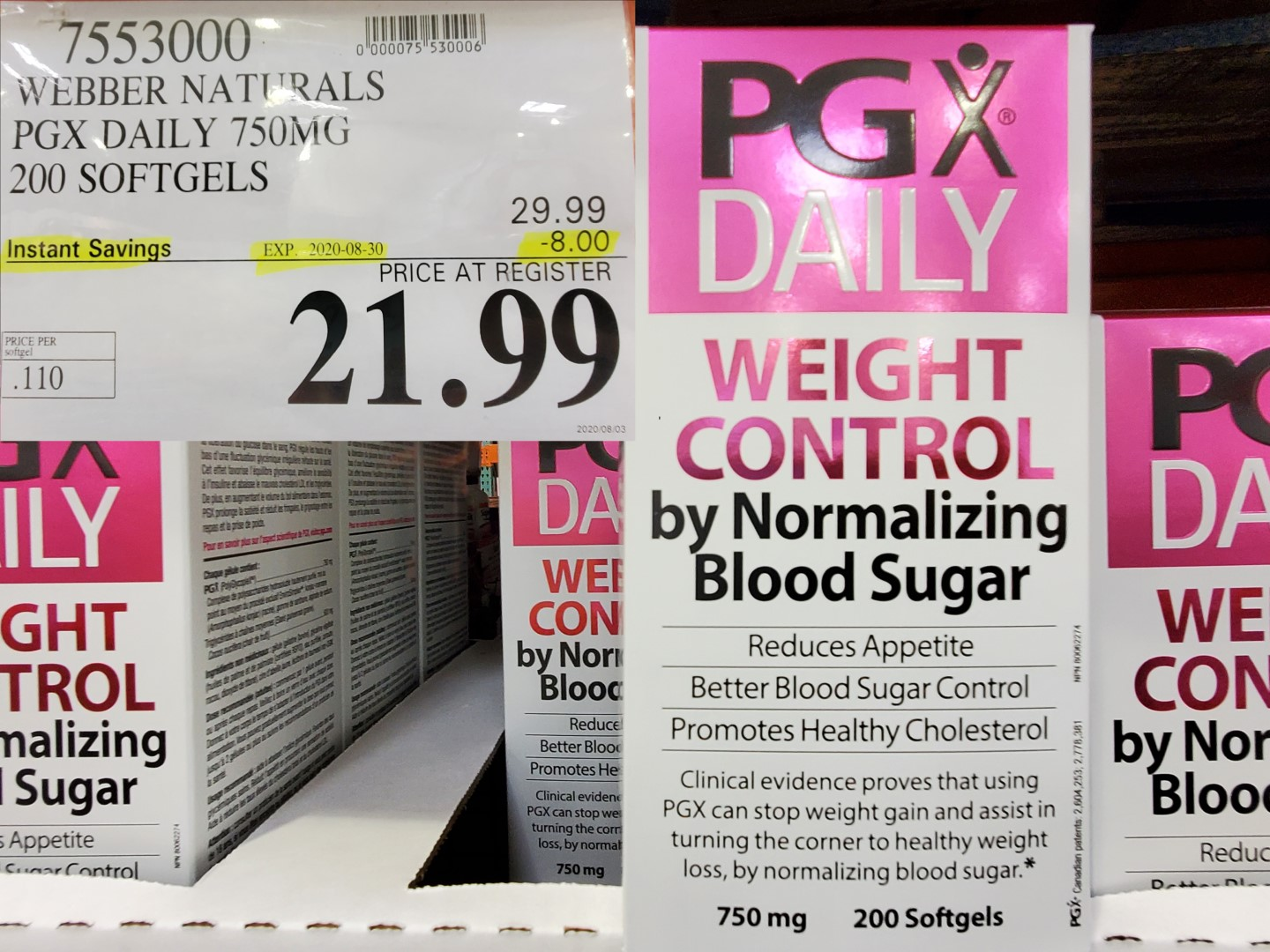 pg daily weight control