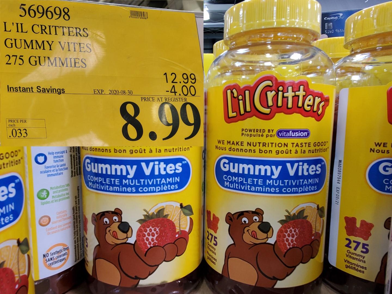 lil' critter gummy vites