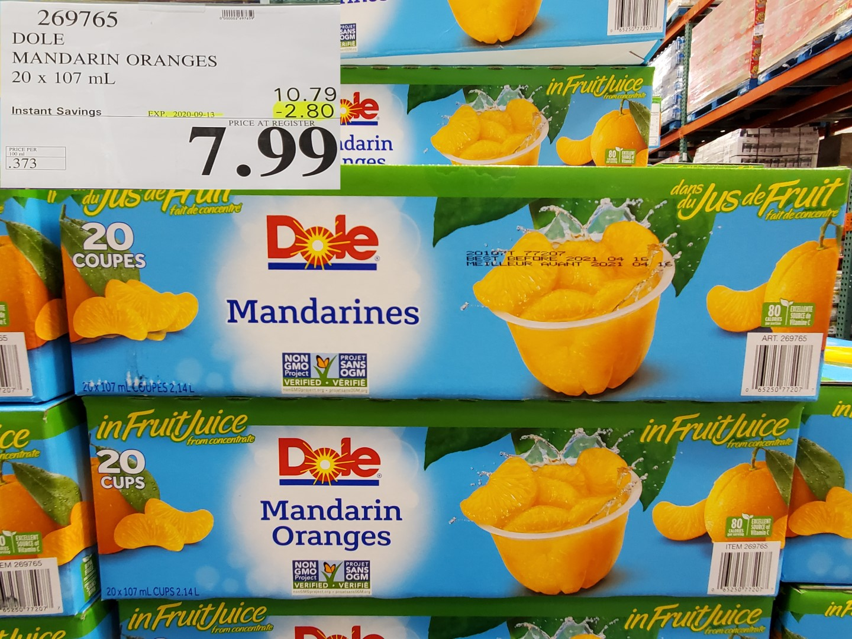 dole madarin oranges