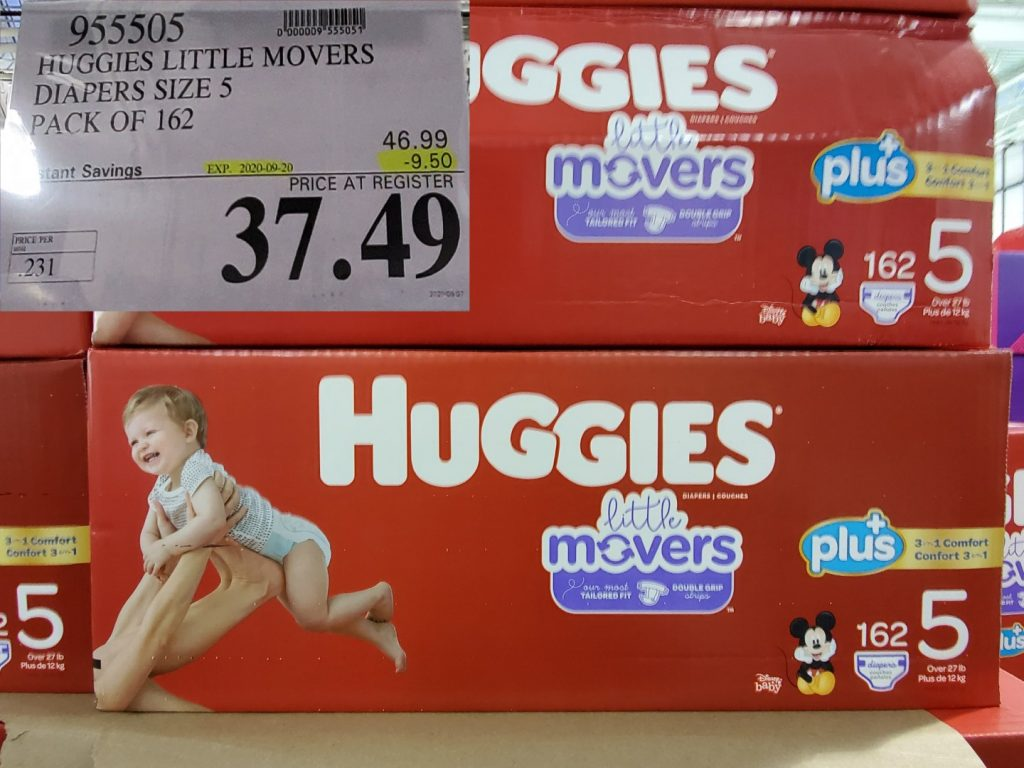 huggies lil movers size 5