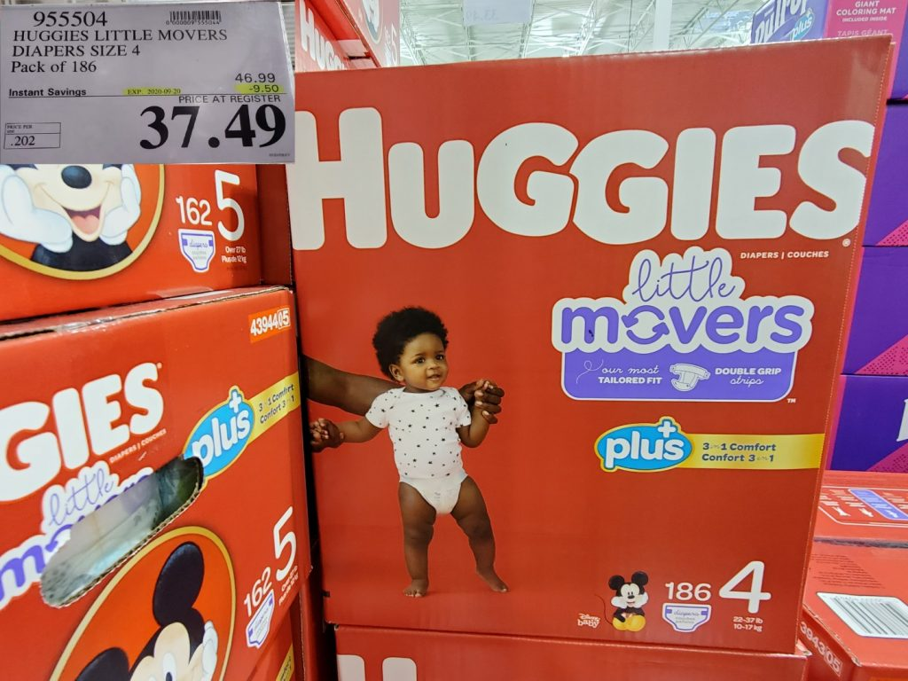huggies lil movers size 4