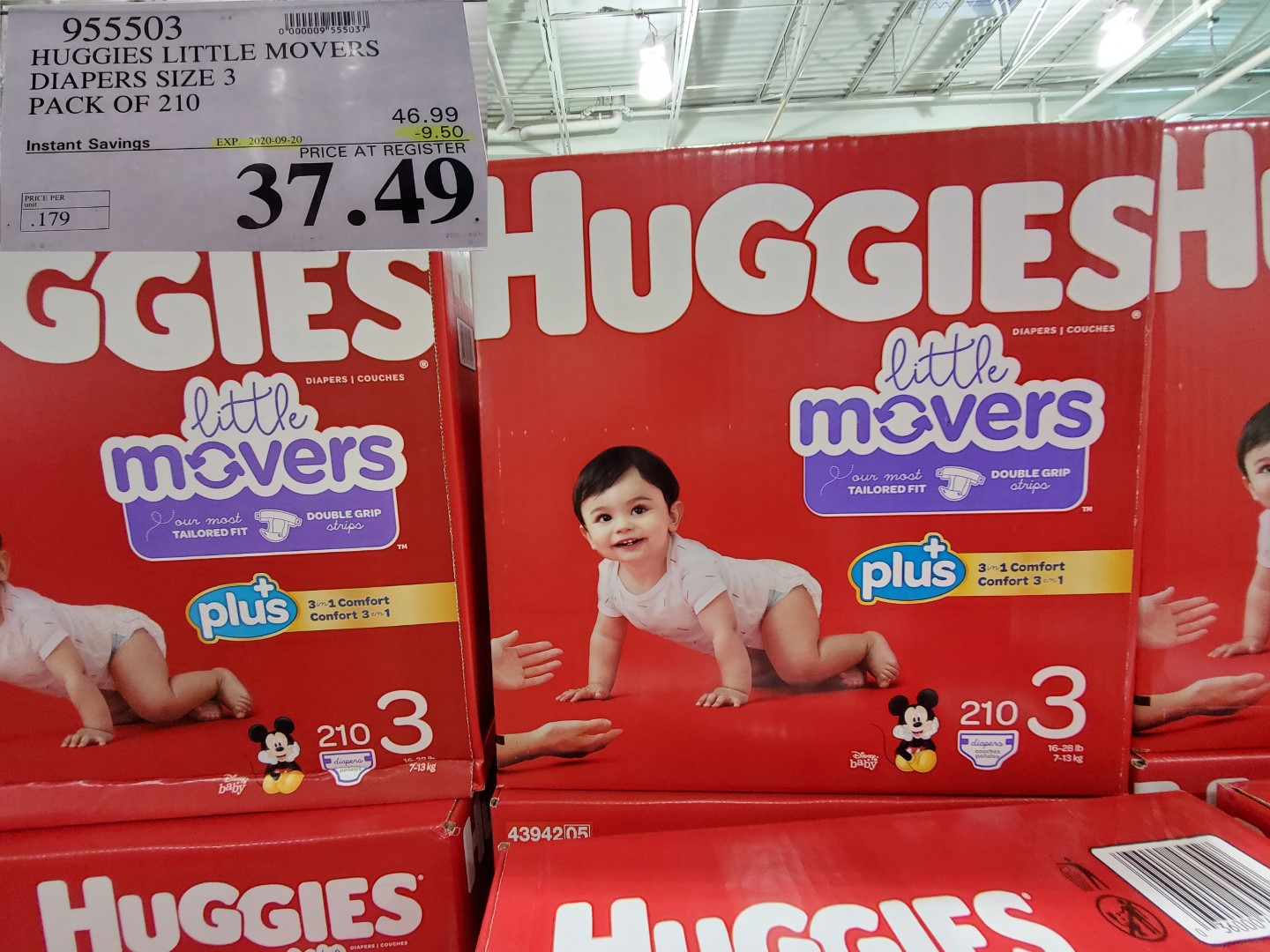 huggies lil movers size 3
