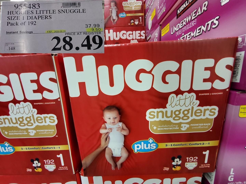 huggies lil snugglers size 1