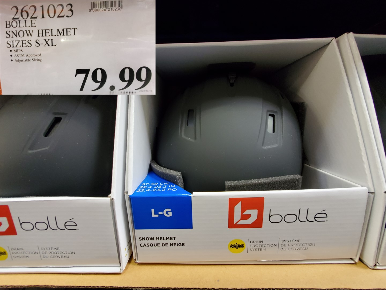 bolle snow helmet