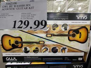 GWL by washburn acoustic guitar kit