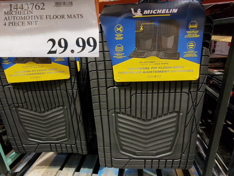 michelin automotive floor mats 4pc