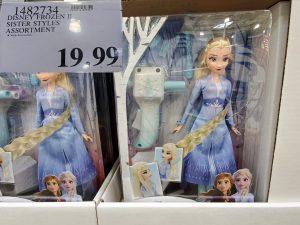 frozen action figure