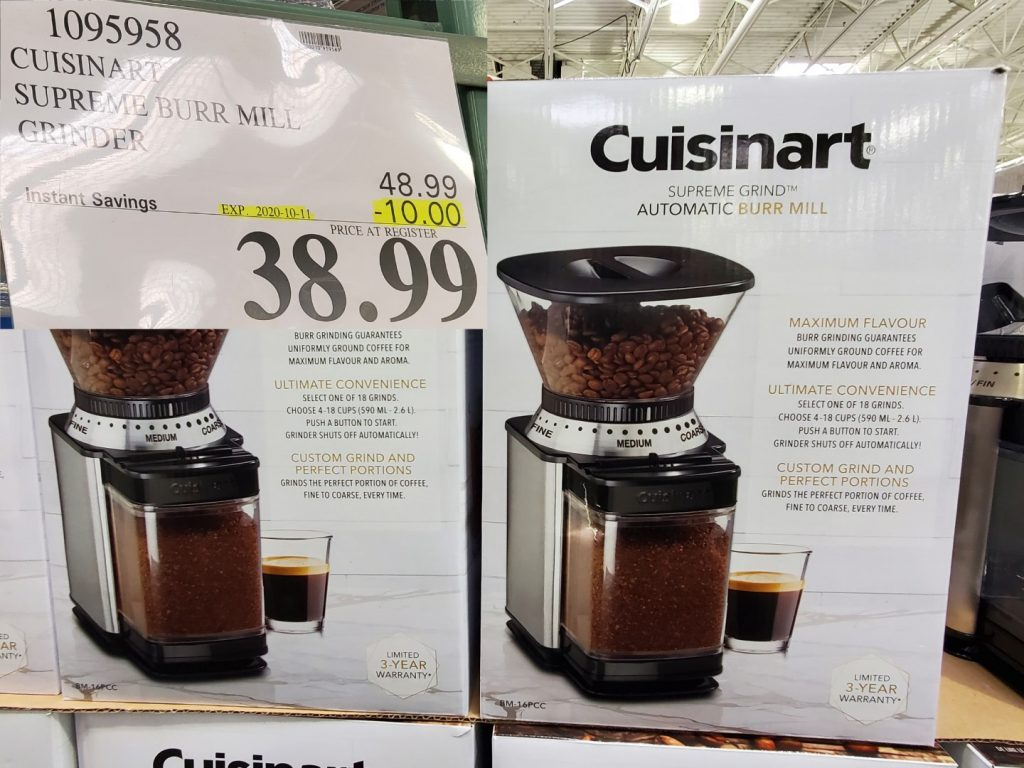 cuisinart supreme burr grinder