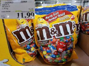 m&m's party size