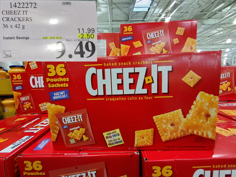 ritz cheez it