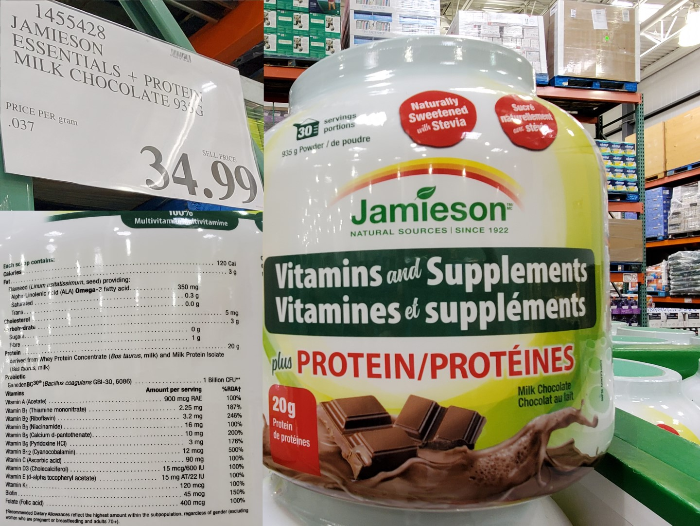 jamieson vitamins ans uppliments
