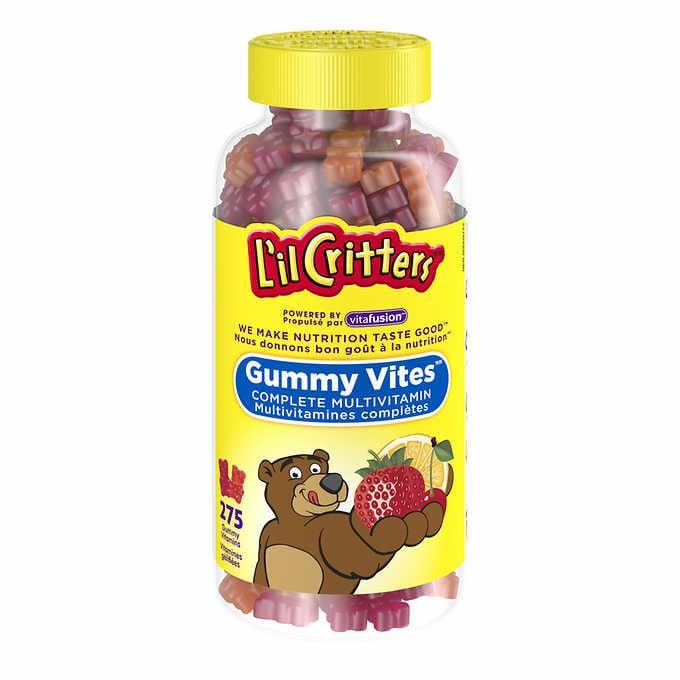 L'il critters gummy vites complete multivitamin