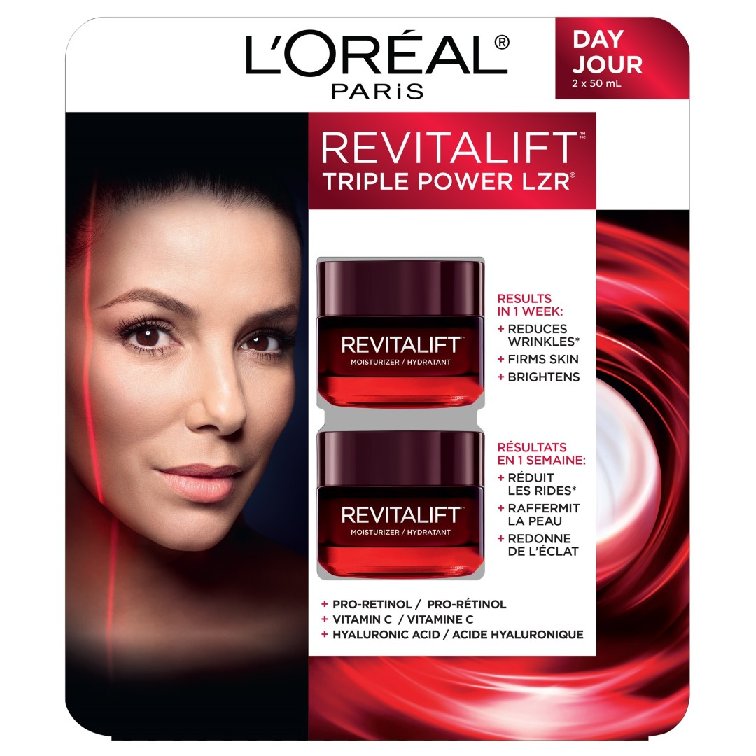 L'Oréal Revitalift Triple Power LZR face cream 2 x 50ml