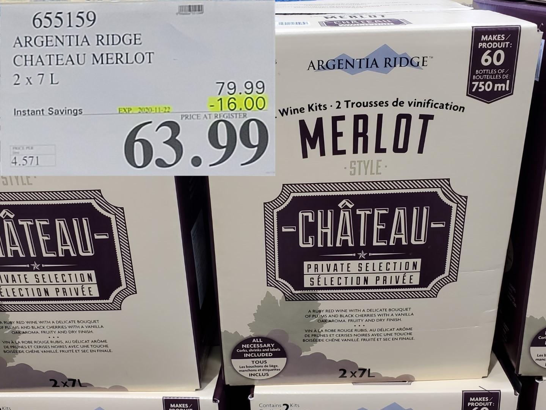 chateau merlot