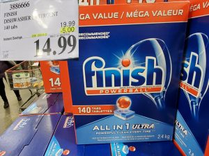 finish dish soap
