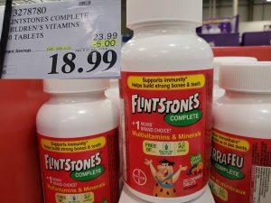 flintsones vitamins