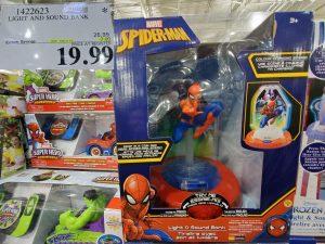 spiderman light up piggy bank