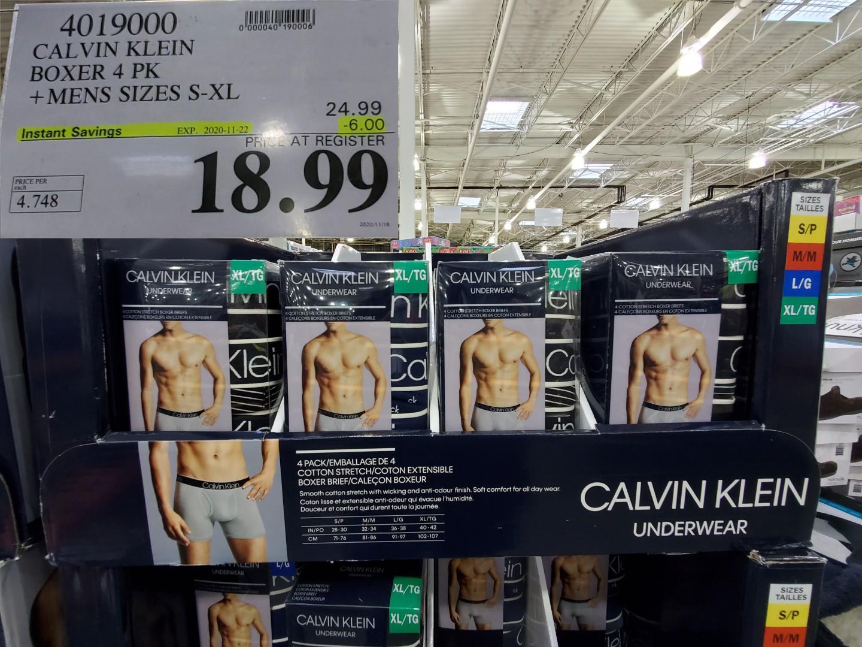 Calvin klien boxer 4pk