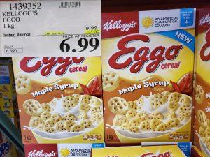 kellogg's eggo maple cereal