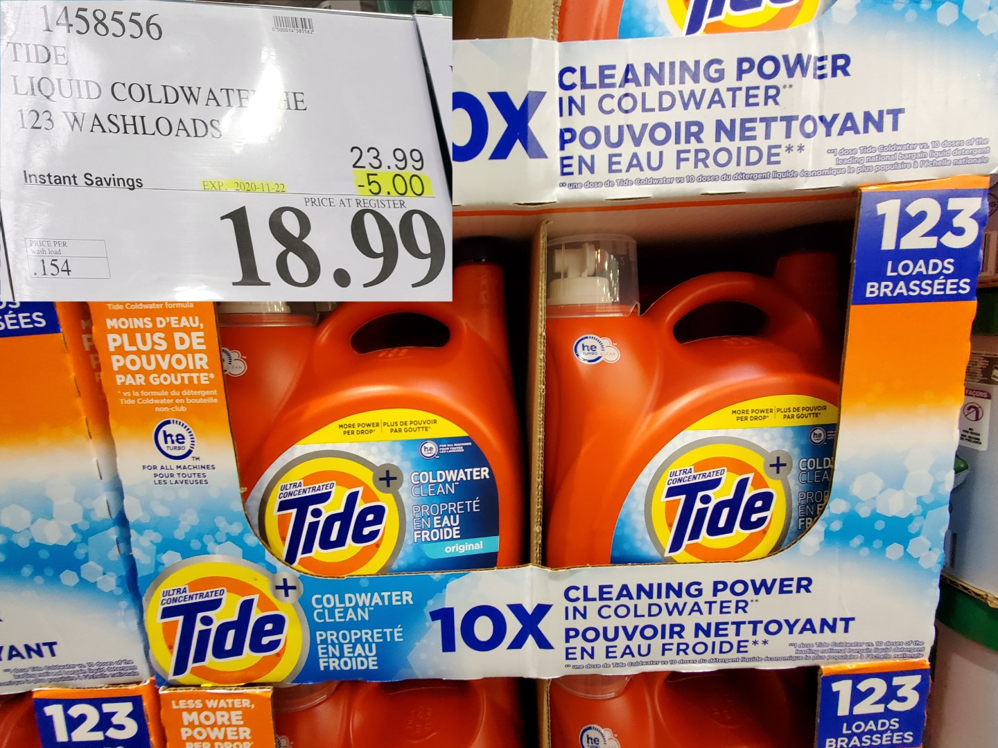 tide coldwater laundry detergent