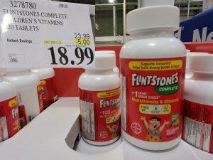 flintstones childrens multi-vitamins