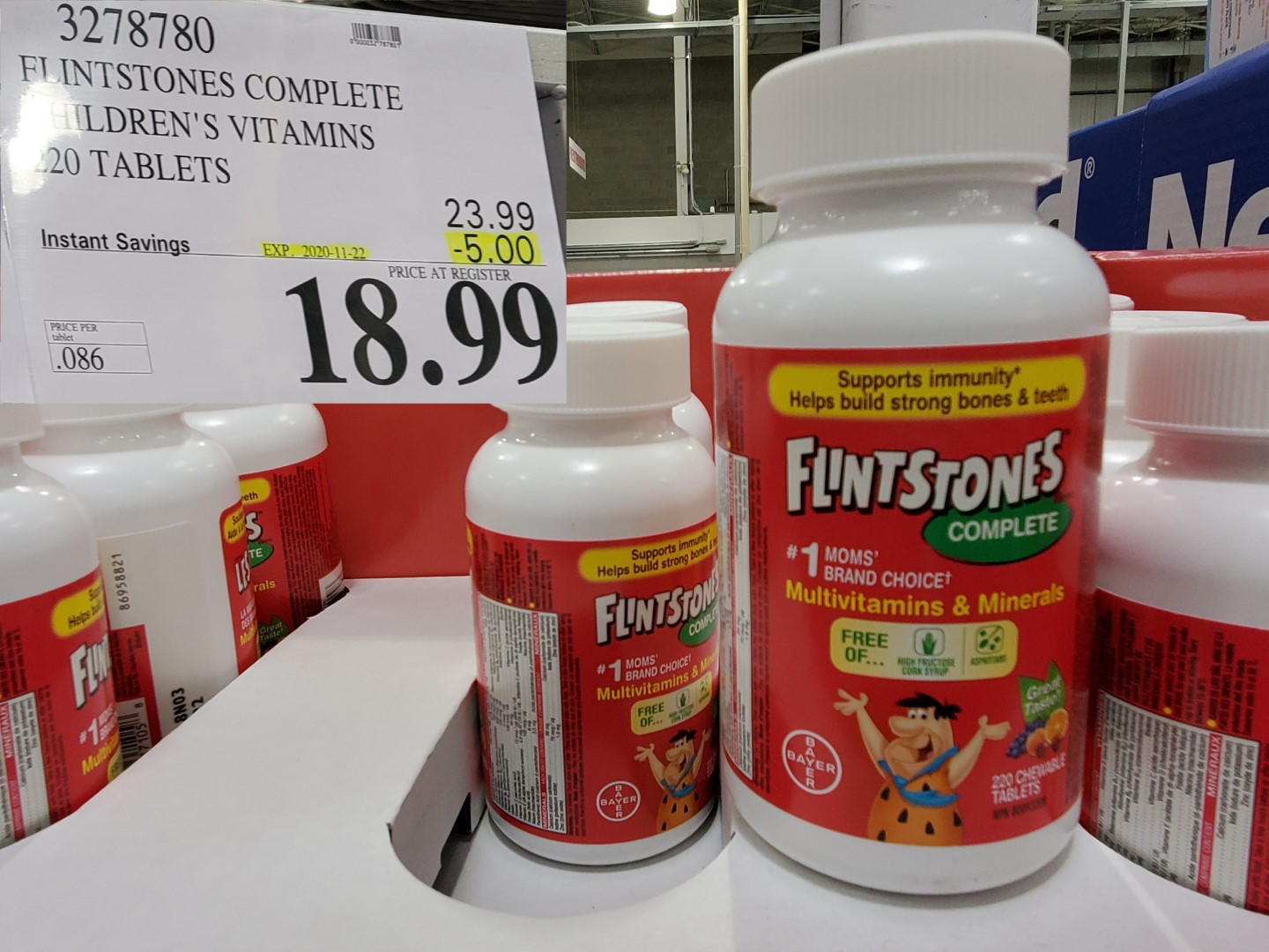 flintstones childrens multi-vitamins